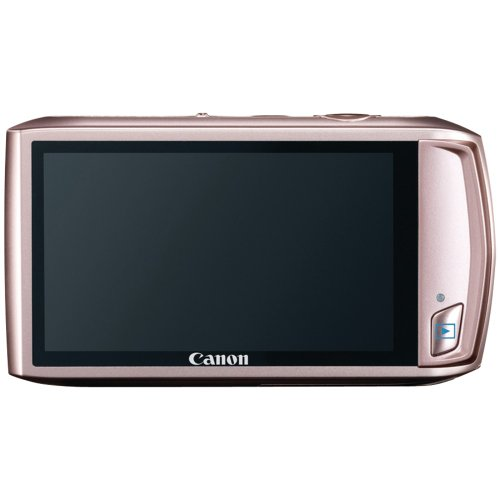 Canon PowerShot ELPH 500 HS 12.1 MP CMOS Digital Camera with Full HD Video and Ultra Wide Angle Lens (Pink)