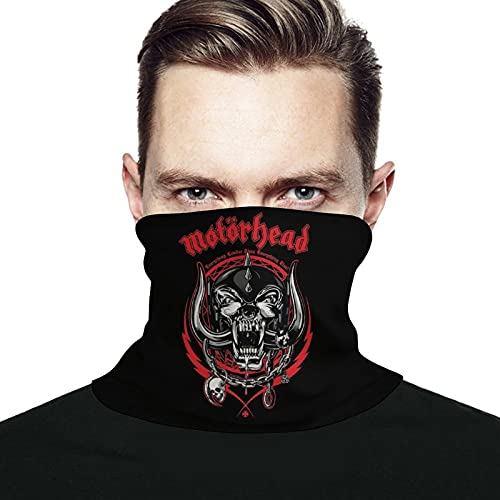 best & Motorhead Logo (Mascarilla facial para hombres y mujeres, filtro anti transpirable, absorbe el polvo, lavable, máscaras reutilizables para ciclismo, camping, esquí, viajes al aire libre