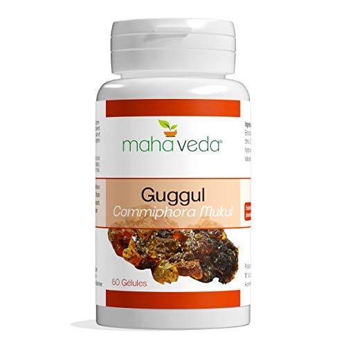 GUGGUL/Extrait de Guggul titré en guggulstérones/dosage renforcé à 450 mg/gélule/Made in France/60 gélules/Laboratoire Phytosud 20 ans d'existence