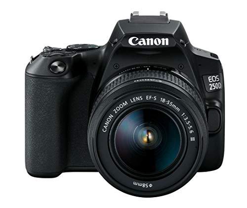 Canon EOS Rebel SL3 DSLR Camera with EF-S 18-55mm f/4-5.6 IS STM Lens Black(International Model)