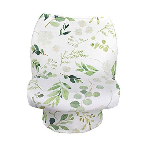 SunniMix - Tapa elástica para asiento de coche, transpirable, para lactancia, para bebé, asiento de coche