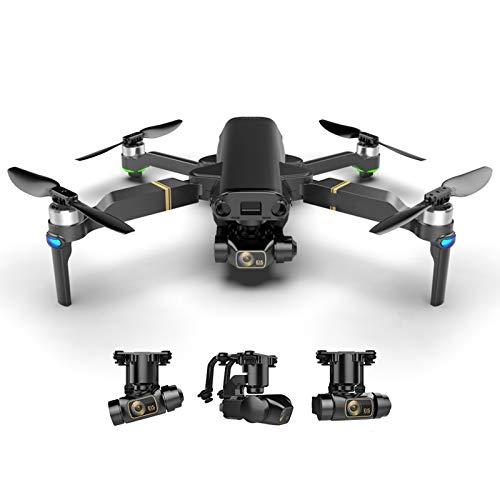 GPS 5G WiFi Drone 8K HD Meccanico a 3 Assi Gimbal Doppia Fotocamera Mini Drone Fotografia Aerea Professionale Volare 25 Minuti Distanza Rc 1.2 km Quadricottero rc,2*Battery