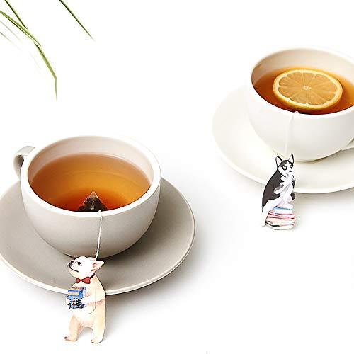 同じシリーズには犬をモチーフにしたバージョンもありますよ。猫派・犬派に分かれてそれぞれのお茶を味わうのも楽しそう♪