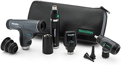 Welch Allyn Premium Diagnostic Set feat. اپتیکال میکروسکوپی کواکسیال ، Ophthalmoscope PanOptic ، اوکروسکوپ MacroView و دسته قابل شارژ لیتیوم یون