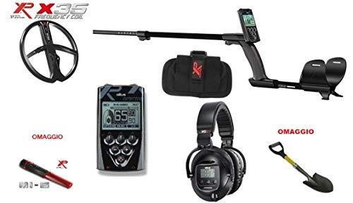 XP Metal Detector XP Deus Full WS5 + Rc Telecomando x35 11 Promo Pinpointer Mi-6