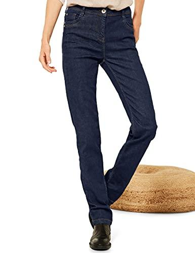 Cecil Damen 374578 Jeans, Rinsed wash, W31/L30