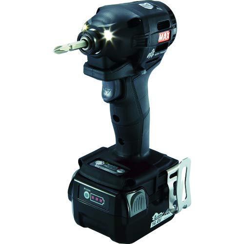 マックス(MAX) MAX 充電式ブラシレスインパクトドライバ(黒) PJ-ID152B-B2C/1440A (PJ91188)