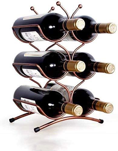 DJY-JY Decoración de estante de vino europeo moderno simple y simple botella de vino titular vino gabinete decoración adornos