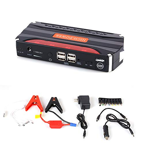 Cheap HUIGE Car Jump Starter 600A Peak Current with Smart Jump Leads 9000Mah USB, Quick Charge 3.0 P...