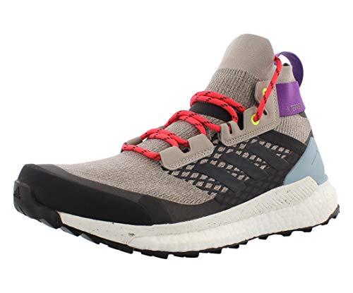adidas outdoor Terrex Free Hiker Boot - Women's Light Brown/Simple Brown/Ash Grey, 9.0