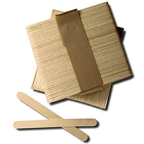 🌿 MATERIAL DE CALIDAD: Palos de madera natural de gran calidad. Todos los palitos vienen lisos y sin astillas. Listo para usarlos. 🌿 BORDES REDONDEADOS: Los bordes redondeados hacen que los palos artesanales sean seguros para los niños. Un excelente ...