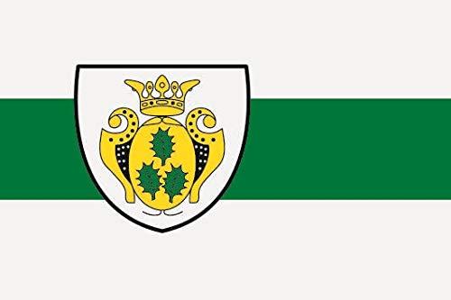 U24 Sticker Uelsen vlag vlag 8 x 5 cm autosticker sticker sticker