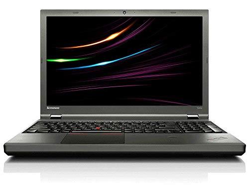 Lenovo ThinkPad T540p Business Notebook, Intel i5 2 x 2.6 GHz Prozessor, 8 GB Arbeitsspeicher, 480 GB SSD, 15.6 Zoll Display, 1366x768, Cam, Windows 10 Pro, B0M (Generalüberholt)