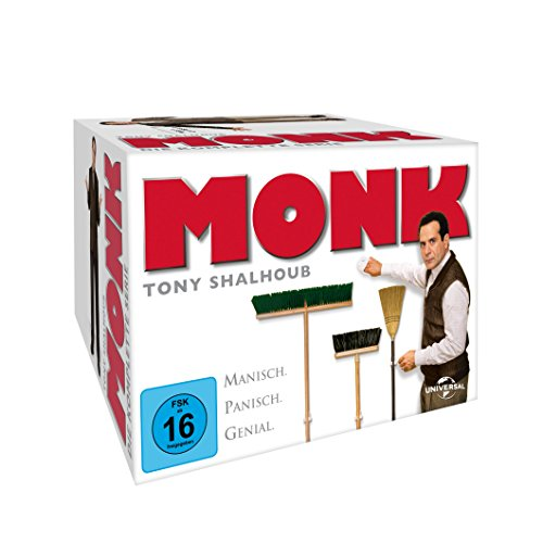 Monk - Staffel 1-8  - Gesamtbox