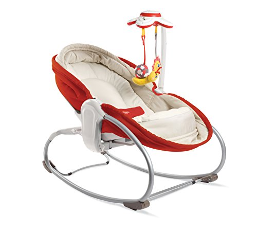 Tiny Love 3-in-1 Rocker Napper, Newborn Baby Bouncer with Recline, Music...