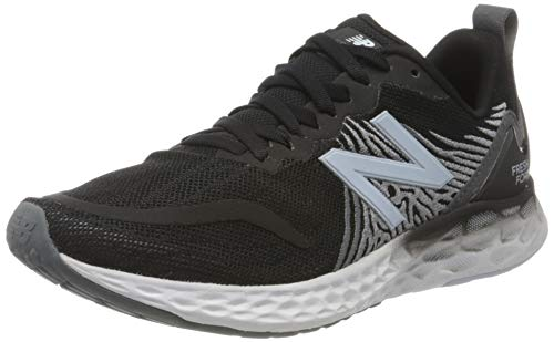 New Balance womens Fresh Foam Tempo V1 Running Shoe, Black/Lead/Moon Dust, 10.5 Wide US