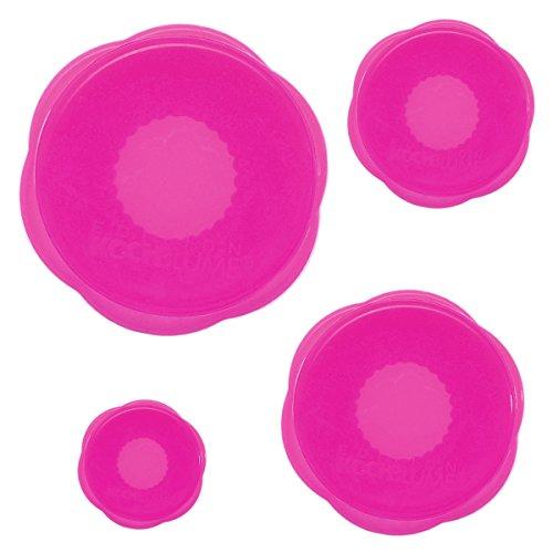 Kochblume Stretchi 4er Set Stretchii viele Farben zur Auswahl (Pink)