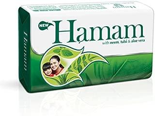 Hamam Neem Tulsi and Aloevera Soap Bar 100 g - (Pack of 4)