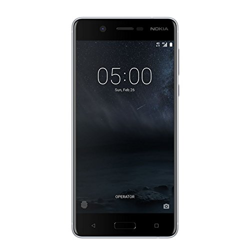 "Nokia 5 5.2"" 4G 2GB 16GB 3000mAh Plata - Smartphone (13,2 cm (5.2""), 2 GB, 16 GB, 13 MP, Android 7.1.1, Plata)"