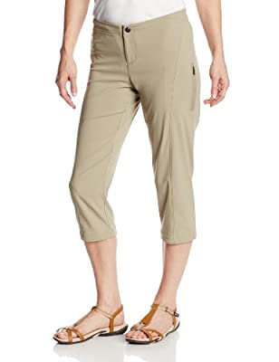 Columbia Women's Just Right II Capri Pant, Tusk, 12x20