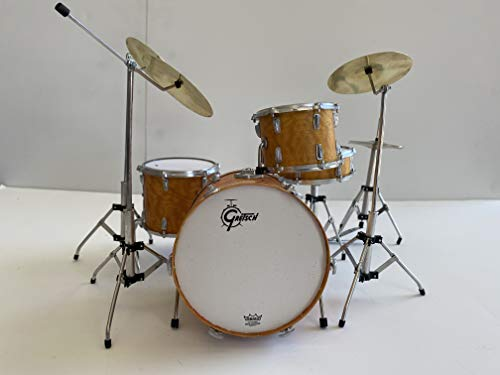 8. Charlie Watts The Rolling Stones Miniature Drum Set Collectible