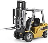 Asinean Juguetes de La Serie de Vehículos de Construcción de Carretillas Elevadoras, Juguete de Construcción de Camión de Plataforma a Escala 1:50 para Más de 3 Años