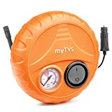 myTVS TI-2 Car Tyre Inflator Portable Air Compressor Pressure Pump with 2 Year
