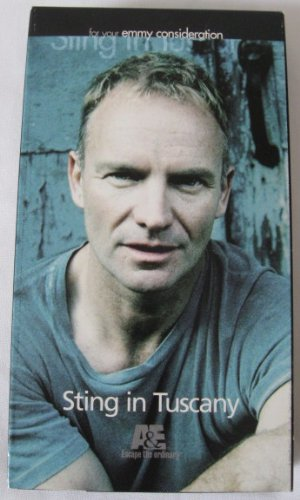 Sting in Tuscany All This Time VHS Emmy Consideration Collectible Tape