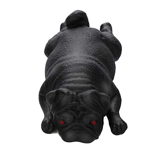 Squishies Mochi Mops Welpen Stressabbau Spielzeug Heilungsspaß Kawaii Stress Reliever Toys Geschenke Anti-Stress Entlastende Sensory Fidget Toy, PushPop Bubble Sensory Toy Rebound-Pu-Spielzeug