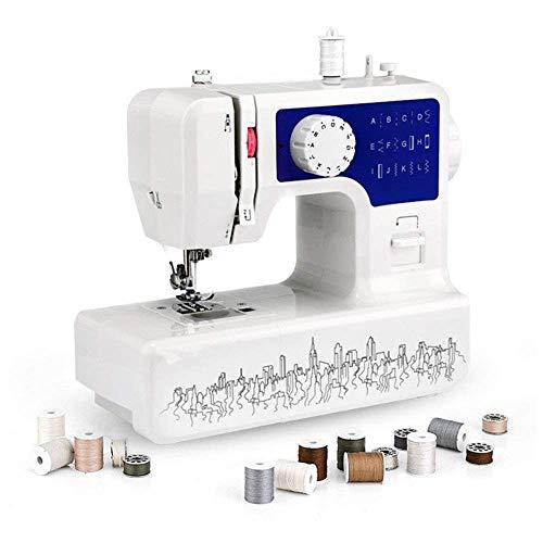 Draagbare lichtgewicht multifunctionele naaimachine, mini kleine compacte huishoudelijke handheld naaimachine, huishoudelijke naaimachine, elektrische naaimachine, voor beginners
