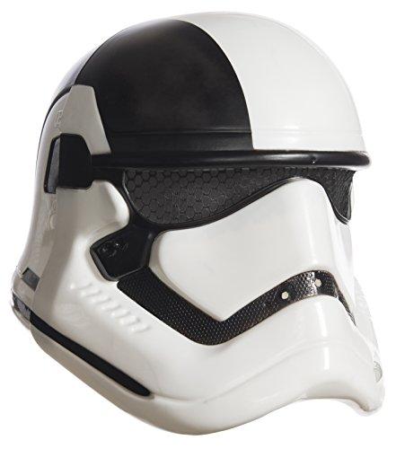 Rubie's´s - Star Wars Episodio VIII:El Traje del último Jedi, Executioner Trooper máscara de 2 Piezas, Multicolor, niño