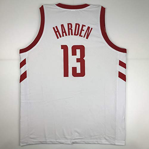 Unsigned James Harden Houston White Custom Stitched Basketball Jersey Size Men's XL New No Brands/Logos