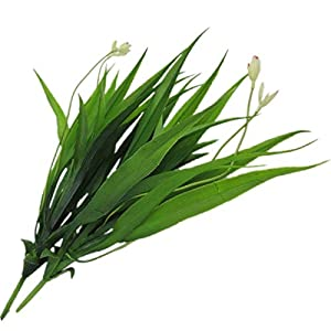 Artificial and Dried Flower 1pc Artificial Green Gladiolus Leaves Fake Green Plants Greenery Leaves for Wedding Party Decoration Christmas Home Supplies