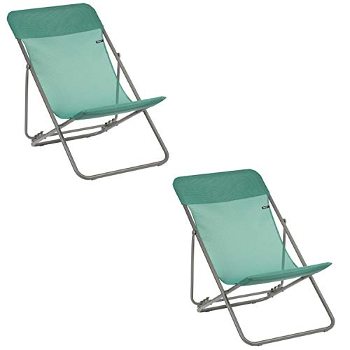 Chaise longue Lafuma Maxi Transat Chlorophylle