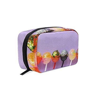 Lollipops Trousse de maquillage portable pour femme multifonction Forme carrée