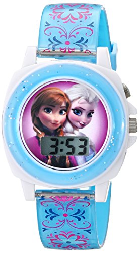 professional Disney Kids Blue FZN3588 Anna and the Snow Queen Anna and Elsa Watch