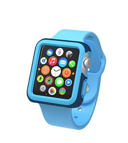 Speck CandyShell Fit Custodia Protettiva per Orologio Apple Watch di 38mm - Blu Marino/Blu