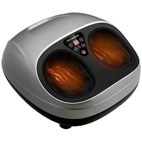Giantex Foot Massager Machine with Heat and Remote, Shiatsu Foot Massager w/Deep...