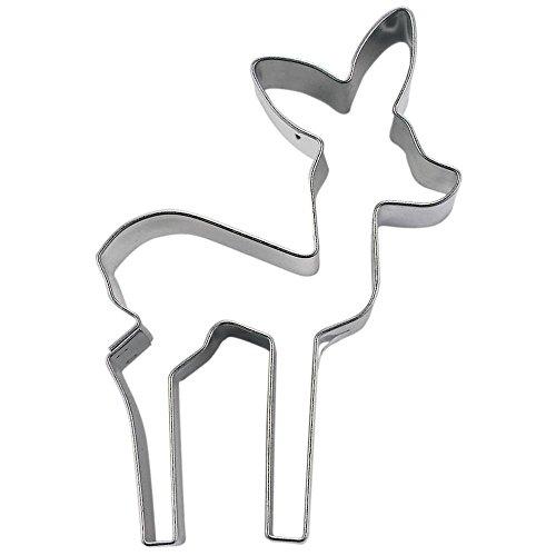 Städter 076211 Ausstechform 7,5 cm Silber