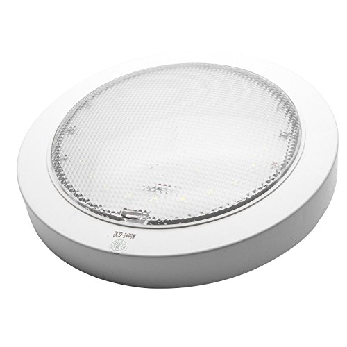 MASO RV plafondlamp LED-licht voor caravans 12V (9W) rond wit