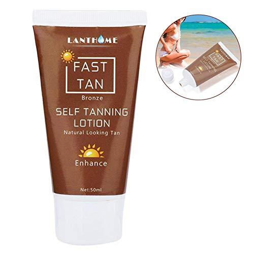 Autoabbronzante, Self Lotion Bronze Self Sun Tan Enhance Day Crema abbronzante Natural Bronzer Sunscreen Tan per viso e corpo