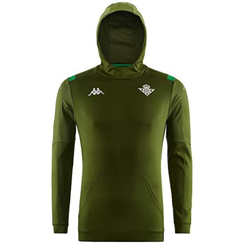 Kappa 2019-2020 Real Betis Training Hoodie (Green)