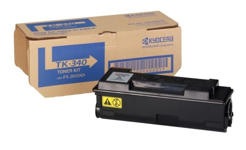 Kyocera TK-340 Cartucho de tóner, Original 1T02J00EUC, para Ecosys FS-2020D y FS-2020DN
