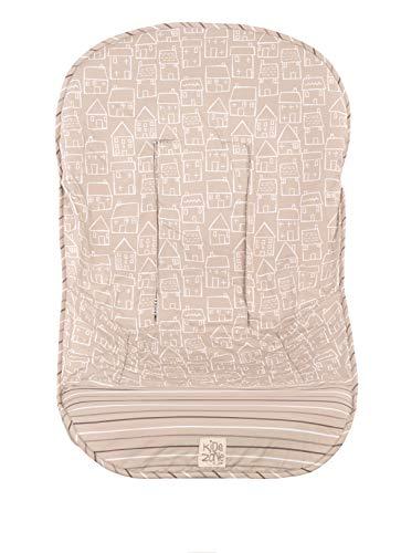 Jané 080270 T25 Sitzauflage, die zur Schonung des Polsters am Buggy angebracht werden kann, universal, 100% Baumwolle, atmungsaktiv, beige