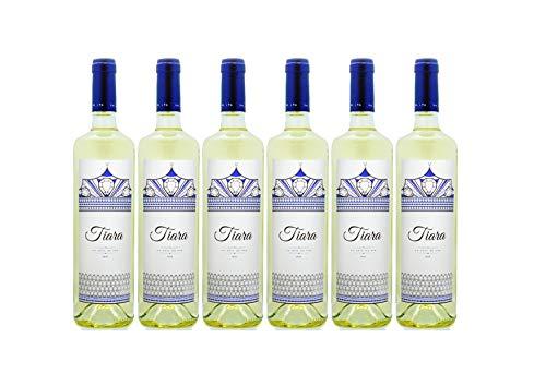 Pack 6 botellas BODEGAS TIARA Vino Eva Blanco Tiara Seco