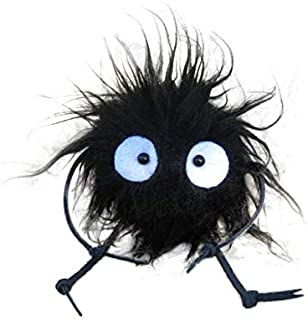 Totoro Soot Sprite Susuwatari Makkuro Kurosuke Doll Keychain Also From Spirited Away