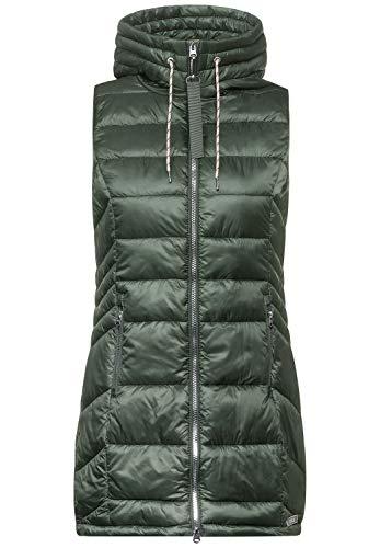 Cecil Damen Lange Weste mit Steppung Soft Khaki XL