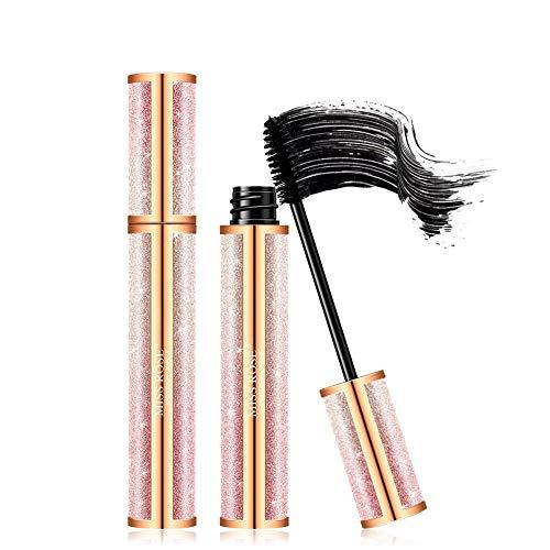 Natural Fiber Lash Mascara, Lengthening and Thick, fiber Mascara, Long Lasting, Waterproof, Sweatproof Eyelashes Mascara.