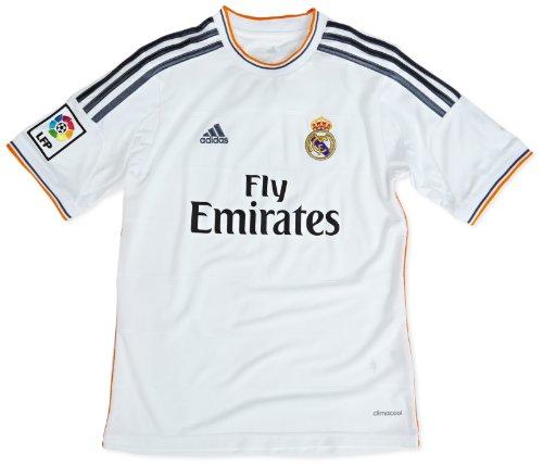 adisas Real Home Jersey Youth - Camiseta de fútbol para niños, talla 176