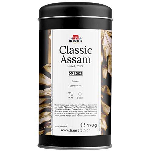 Hansefein Classic Assam Schwarzer Tee 2nd Flush 170g TGFOP1 in Aromadose